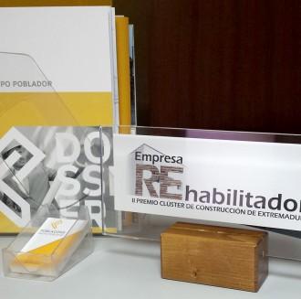 El Grupo Poblador recibe hoy en la sala Verdugo el premio Empresa Rehabilitadora